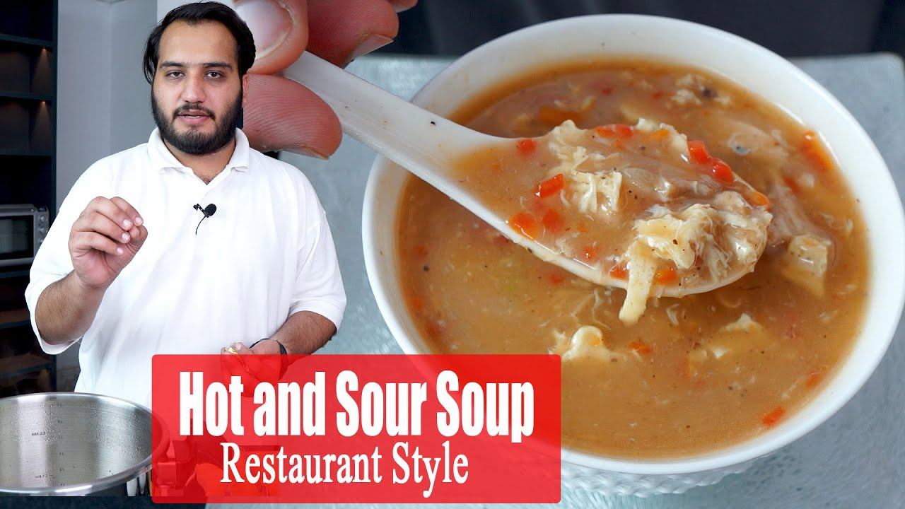 Chicken Hot and Sour Soup Secret Restaurant Recipe - Kun Foods