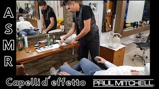 💈 - ASMR - Traditional italian barber - Face scrub, face shave with straight razor and face massage