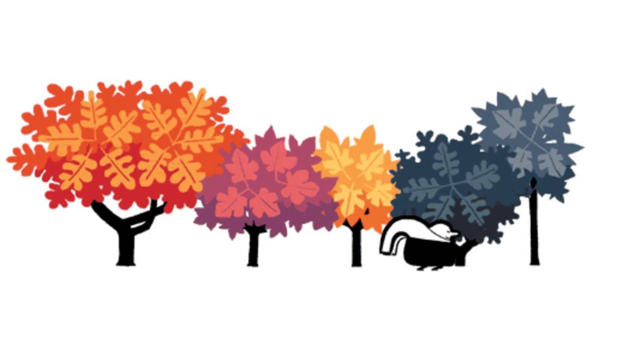 Autumnal Equinox Google logo (First Day of Fall)