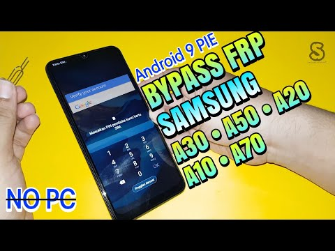 Bypass Frp Google Account Samsung A30 / A50 / A20 / A10 / A70 Android 9 Pie 2019 Tanpa Pc