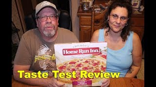 FROZEN FRIDAY - Home Run Inn Sausage and Pepperoni Pizza Taste Test Review | JKMCraveTV