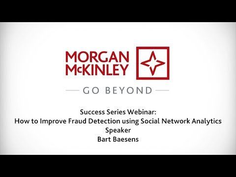 [Webinar] How to Improve Fraud Detection using Social Network Analytics | #SuccessSeries