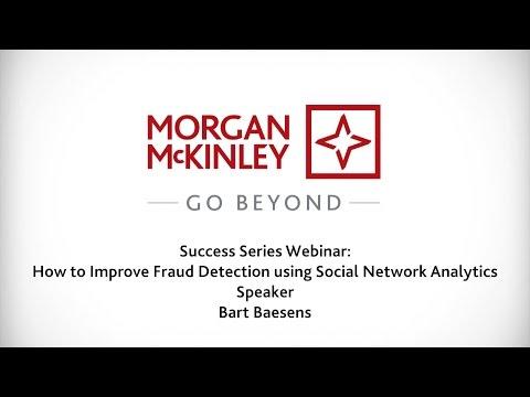 [Webinar] How To Improve Fraud Detection Using Social Network Analytics   #SuccessSeries