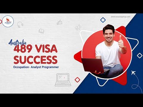 Australia 489 Visa Success   Occupation- Analyst Programmer