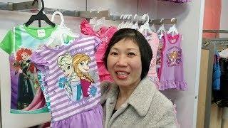 Khám phá tiệm bán quần áo đồ dùng giá rẻ ở Mỹ