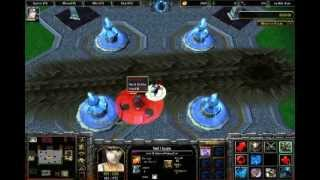 Warcraft III Gameplay Bleach Vs Naruto - Kuro Yo Vs Ero Gaah