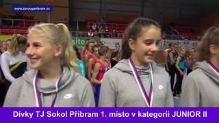 Dívky Sokola Příbram vyhrály vTeamGymu