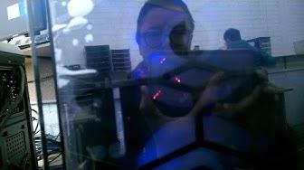 Thùng máy tính cao cấp 2017 bằng kiếng ~ bằng kính trong suốt by Anthony TT