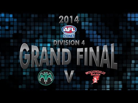 AFL Sydney Division 4 Grand Final - UTS v Wollondilly