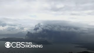 Active volcano in the Philippines forces evacuations