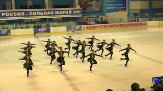 Чемпионат России по синхронному катанию  KMC  ПП 9 Санрайз 1 СПБ