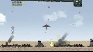 Игра онлайн: Бомбардировщик на войне часть 4