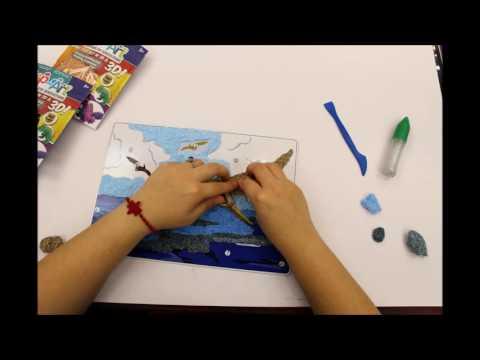 POP ART   Pterosaur   Time lapse