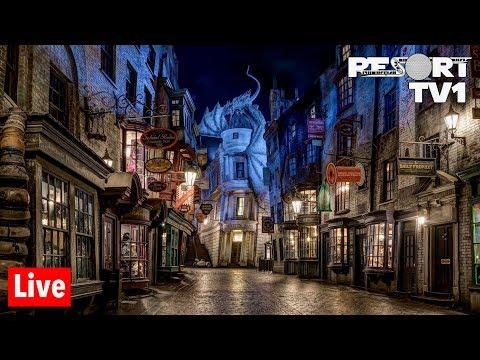 🔴Live: Universal Studios Orlando - Wizarding World of Harry Potter & More! - 6-24-19
