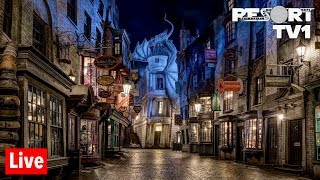 🔴Live: Universal Studios Orlando - Wizarding World of Harry Potter & More! - 6-24-19