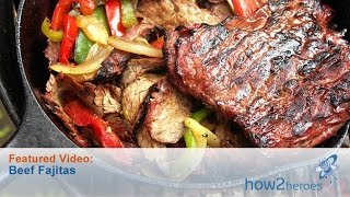 Authentic Tex Mex Style Steak Fajitas