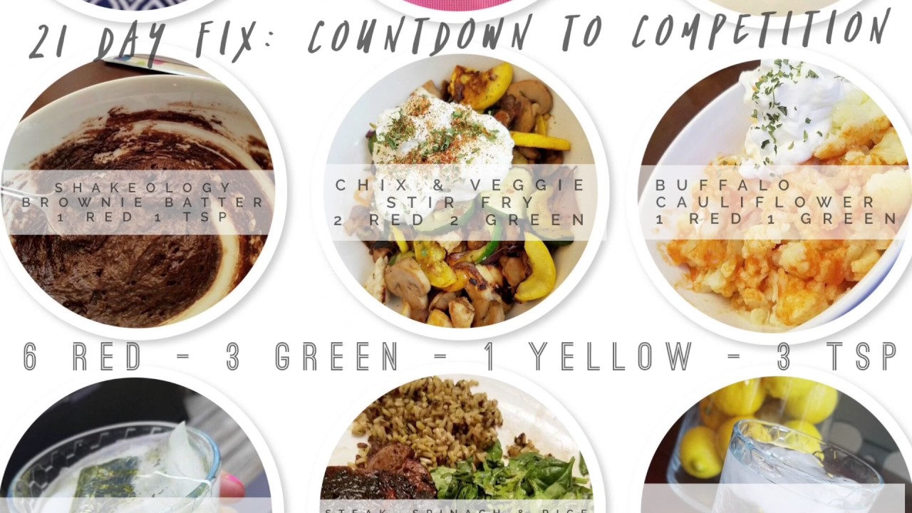 21 day fix meal plan ideas countdown to competition youtube 21 day fix meal plan ideas countdown to competition forumfinder Gallery