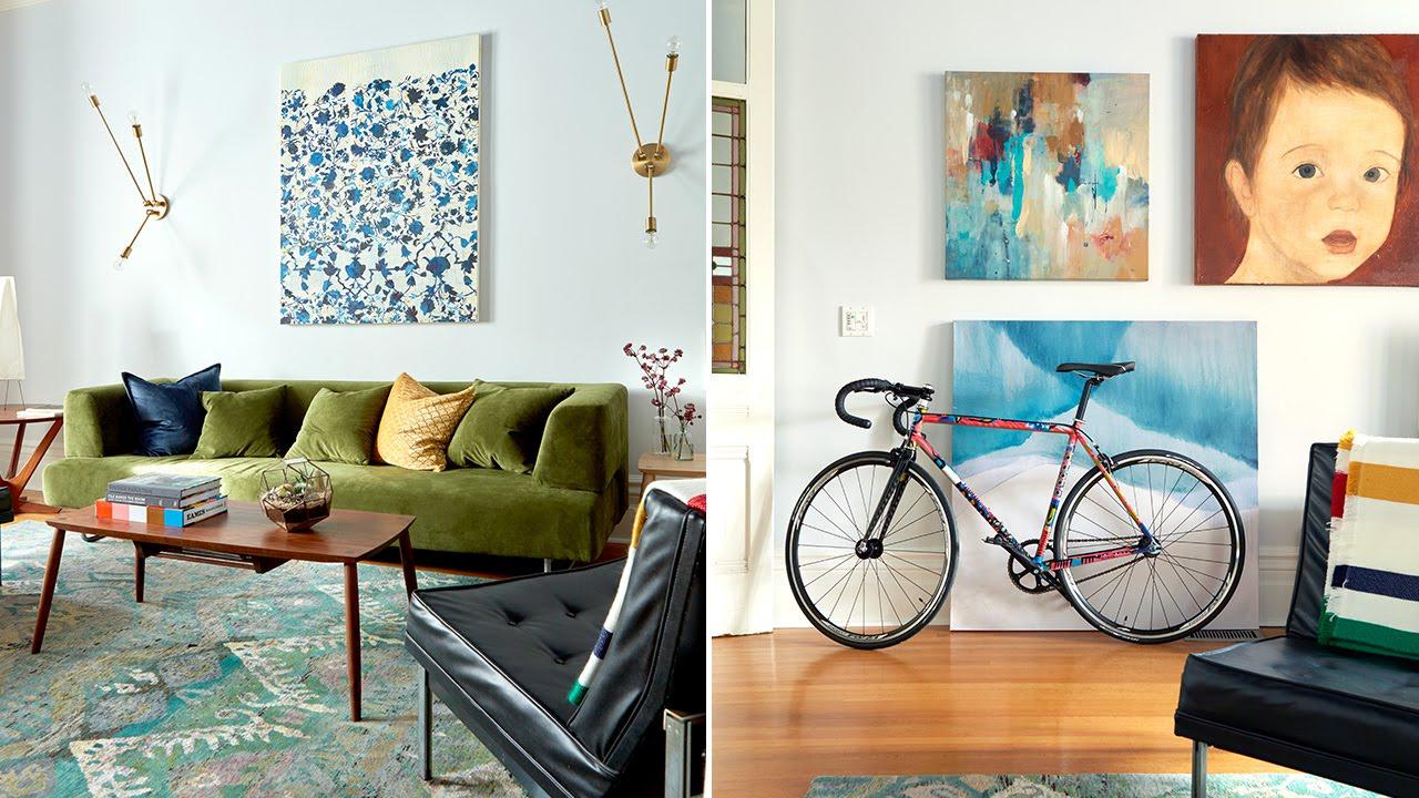 Interior Design A Playful Living Room Makeover