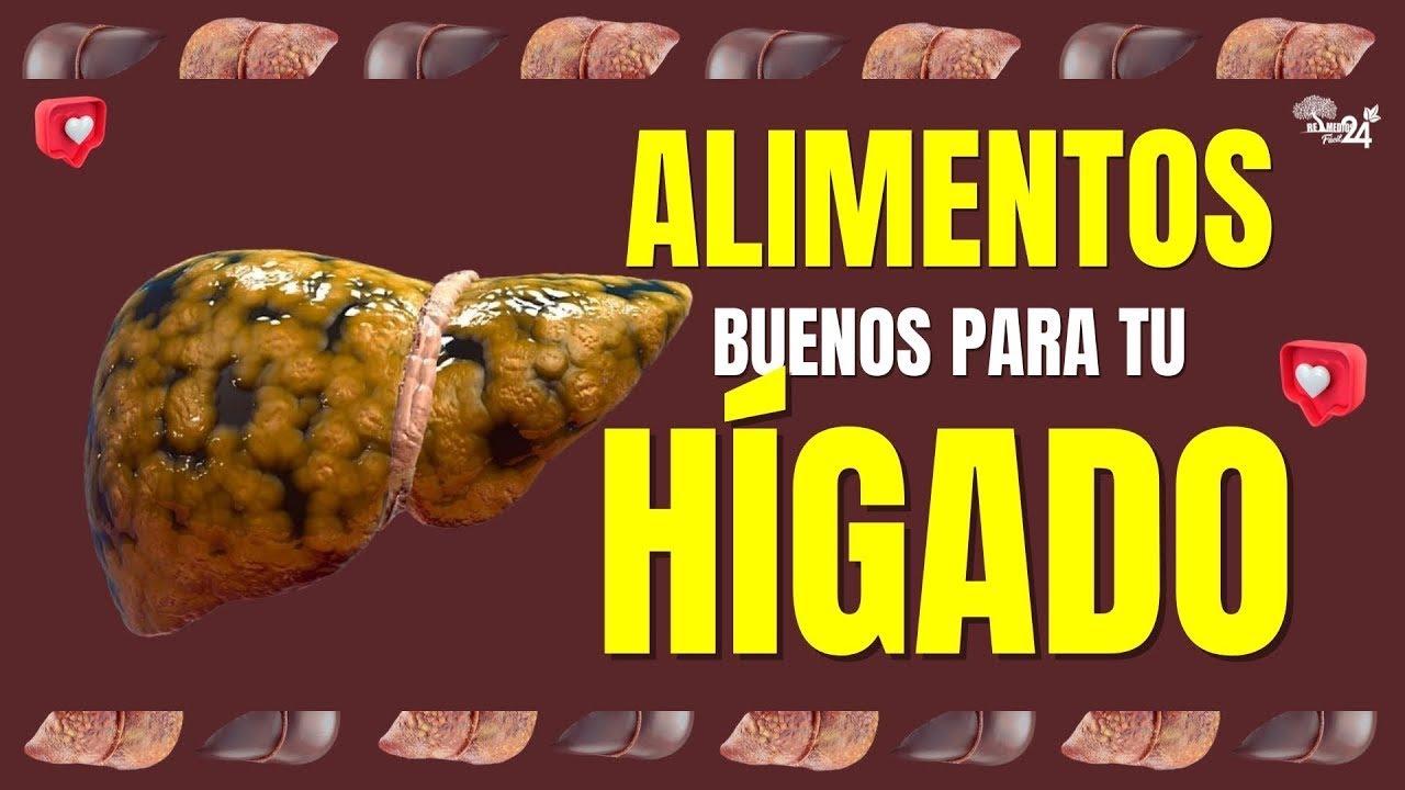 🟢 6 Alimentos Para LIMPIAR El HIGADO Naturalmente ¡AQUÍ TE LOS DIGO!