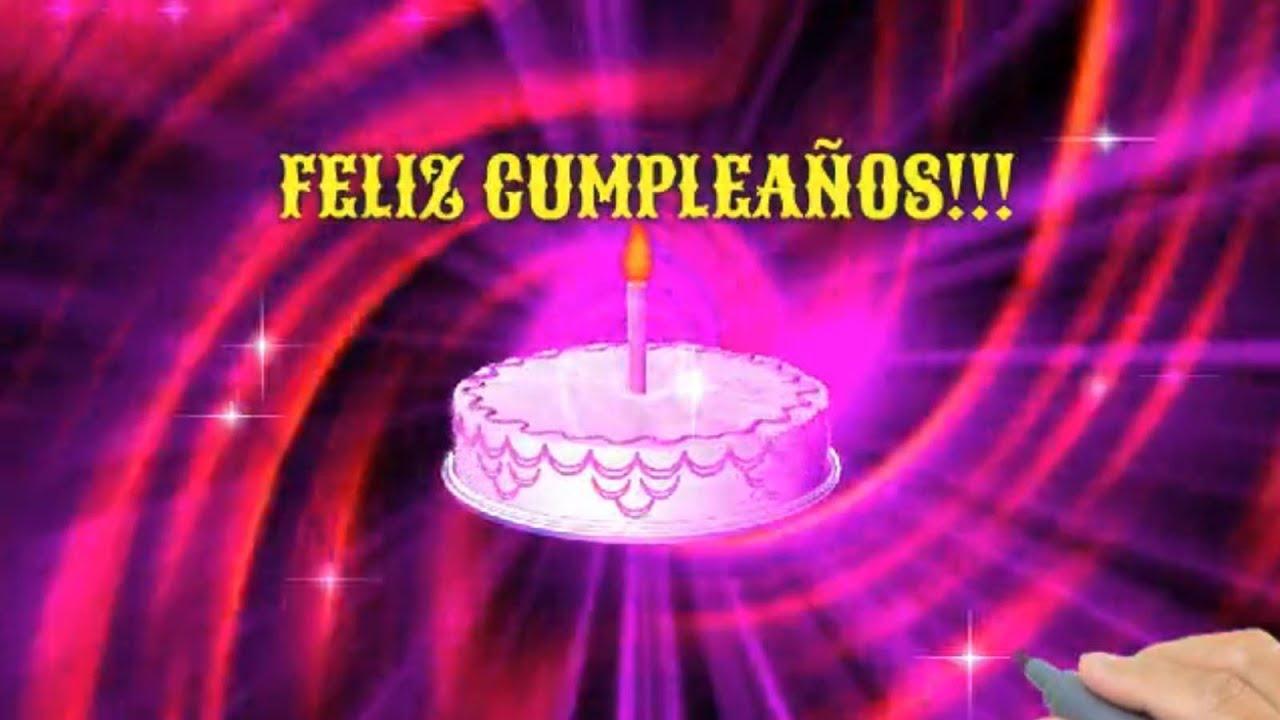 Tarjetas de Felicitaciones de Cumpleaños Animadas y Divertidas YouTube