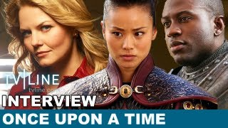 Once Upon A Time Season 2 Scoop, Mulan, Lancelot & More With Jennifer Morrison! ENTV