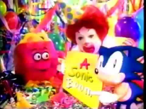 Mcdonald S Commercial Happy Birthday Happy Meal 1994