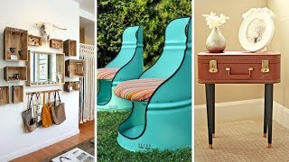 10 Upcycled Furniture Ideas For Small Bedroom