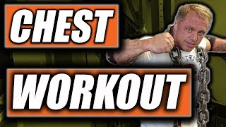 Amazing Chest Workout 9 sets to failure
