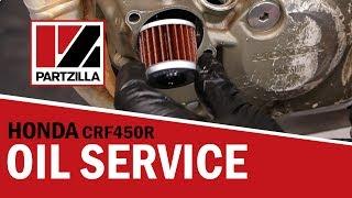 Honda CRF 450 Oil Change | 2005 Honda CRF450-R | Partzilla.com