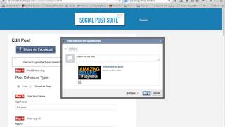 Social Post Suite Demo Video