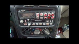 2002 Pontiac Grand AM Temperature Control Panel Fix