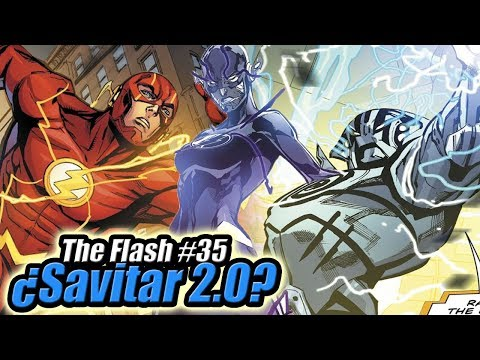 ¿SAVITAR 2.0? - The Flash Comics #32-35 Review