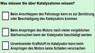 Theoriefragen zum Motor Teil 5 (Fahrschule, Führerschein, Klasse B) #996