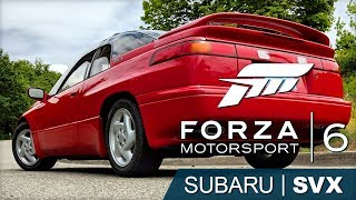 Driving My 1996 Subaru SVX in Forza Motorsport 6