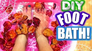 DIY FOOT BATH TO CLEANSE YOUR MIND, BODY AND SPIRIT!!