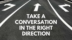 TALKING ABOUT THE RIGHT THINGS IN CONVERSATION | CONVERSATION SKILLS