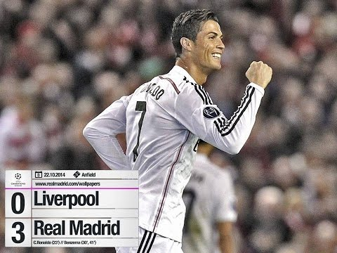 liverpool vs real madrid goles 2014 UEFA CHAMPIOS LEGUE