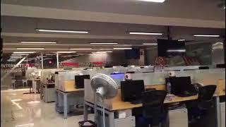 Así se sintió el temblor en las oficinas de MILENIO
