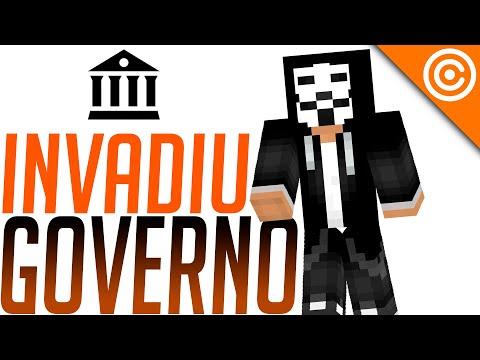 Hacker BR bota Minecraft pra RODAR em site do GOVERNO
