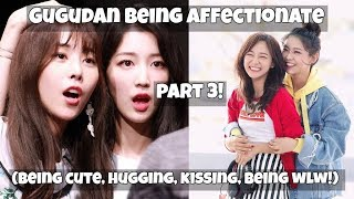 Gugudan being affectionate PART 3! (Kissing, Hugging, Being wlw!)