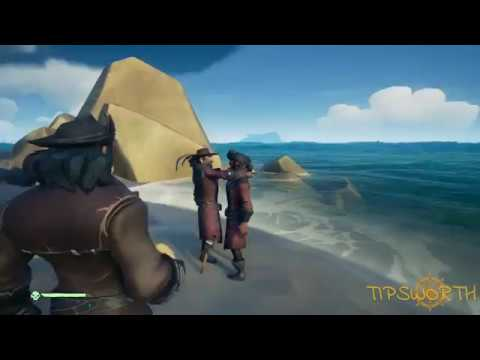 Intimate moment with a friendly pirate.