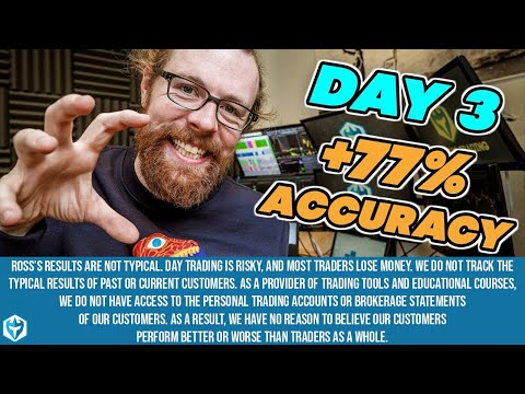 Day 3 🏆🥇 +77% Accuracy | Small Account Challenge Ep 9