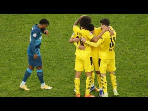 Зенит - Боруссия Дортмунд 1-2 обзор матча/ Zenit Vs Borussia Dortmund 1-2/ CHAMPIONS LEAGUE