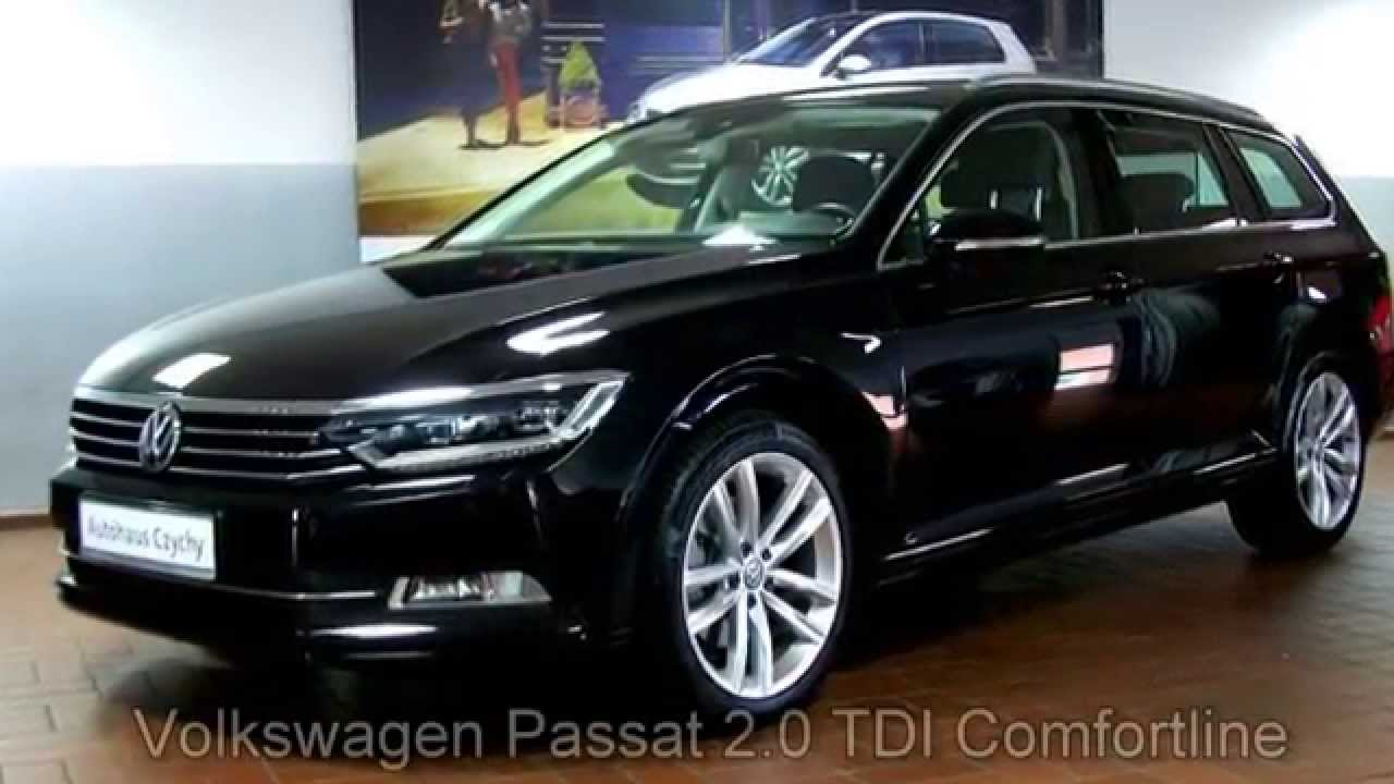 volkswagen passat variant 2 0 tdi dsg comfortline fe408970 deep black perleffekt youtube. Black Bedroom Furniture Sets. Home Design Ideas
