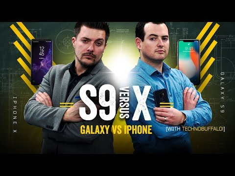 Galaxy S9 vs iPhone X: Part 2! [w/TechnoBuffalo]