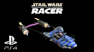 Star Wars Episode 1 Racer (PS4 Pro - 60FPS): Amateur + Semi-Pro Circuit