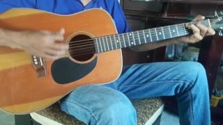 Mua dem ngoai o guitar bolero