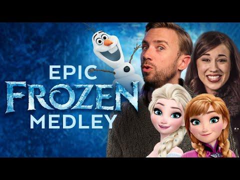 Epic Frozen Medley - Peter Hollens feat. Colleen Ballinger