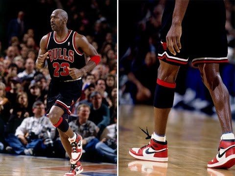 Michael Jordan last game at MSG: Must be the Shoes