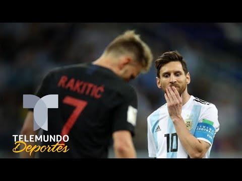 El sorprendente gesto de Messi con Croacia durante el Mundial | Telemundo Deportes